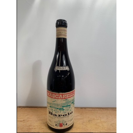 BAROLO 1957 MASCARELLO